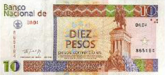 Cuban Convertible Peso