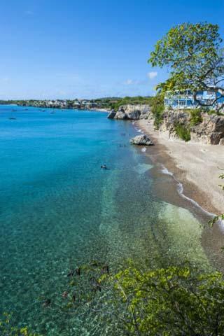 Playa Kalki, Curacao, ABC Islands, Netherlands Antilles, Caribbean, Central America