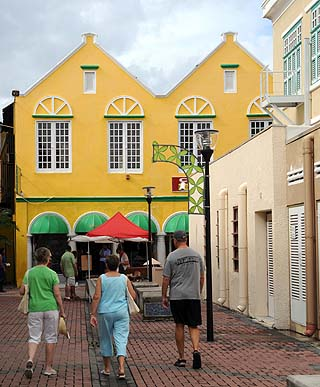 street colors in curacao