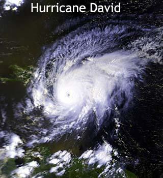 hurricane david