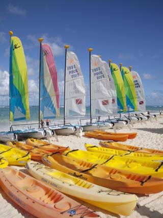 Watersports, Bavaro Beach, Punta Cana, Dominican Republic, West Indies, Caribbean, Central America