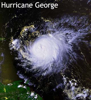 hurricane george