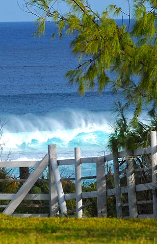 waves on grand turk island