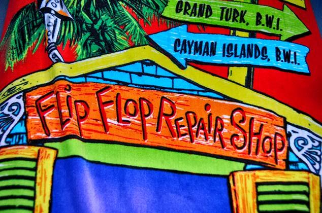 flip flop repair grand turk