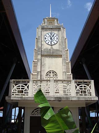 guadeloupe clock tower