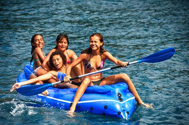 rafting in guadelopue