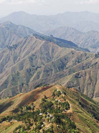 Kenscoff Mountains Near Port Au Prince, Haiti, West Indies, Caribbean, Central America