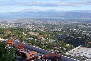 View of Port-au-Prince Haiti