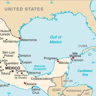 Isla Mujeres Latitude Longitude and Relative Location Hemisphere