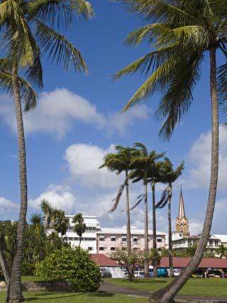 La Savane Park, Fort-De-France, Martinique, French Antilles, West Indies, Caribbean