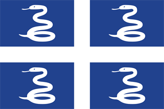 Unofficial Flag of Martinique