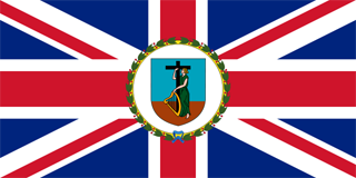 Governor ensign of Montserrat