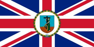 Governor ensign of Montserrat
