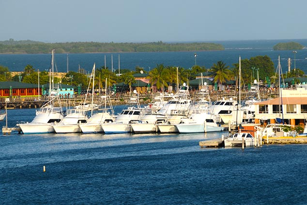 boats in the harbor ponce puerto rico