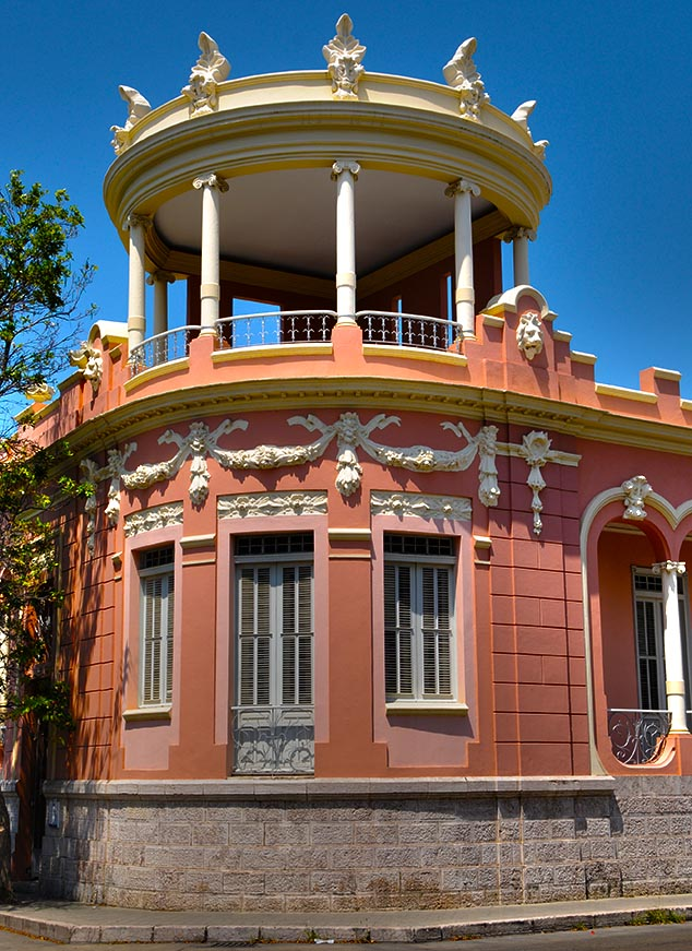 pink building ponce puerto rico
