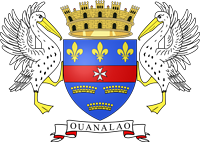 coat of arms of st barts