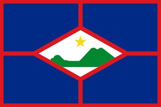 Flag of Saint Eustatius