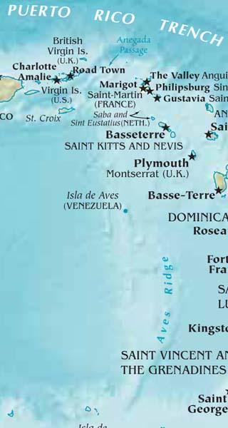 Saint Eustatius map