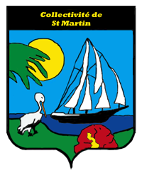 Coat of arms of st. martin