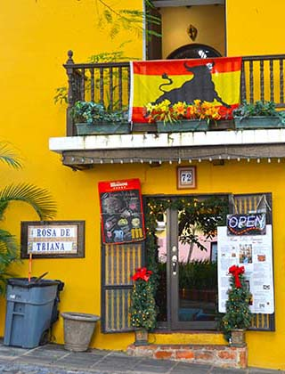 colorful bar san juan