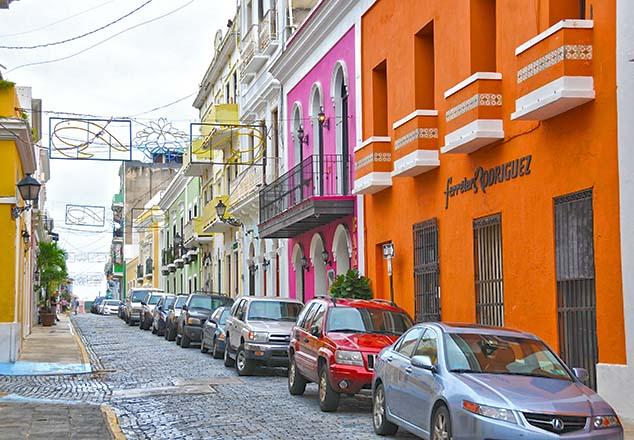 street color san juan