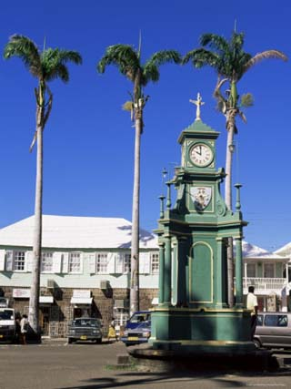 Basseterre, St. Kitts, Leeward Islands, Lesser Antilles, West Indies, Central America