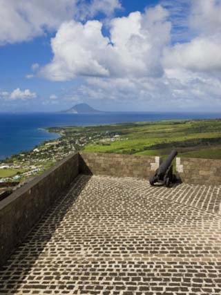 Brimstone Hill Fortress,Brimstone Hill Fortress National Park, St. Kitts, West Indies