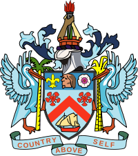 St Kitts and Nevis coat of arms