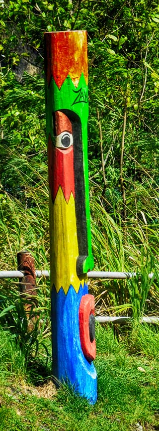 road art st. lucia