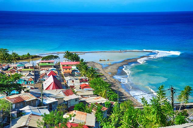 canaries st. lucia