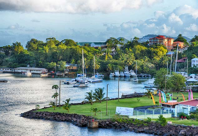 small bay st. lucia