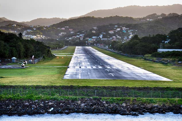 airport castries st. lucia