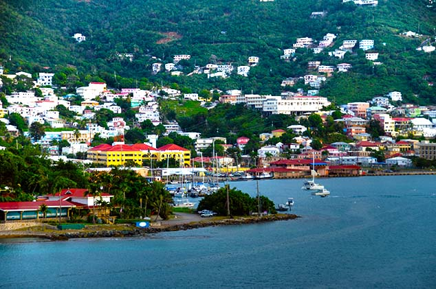 List Of Cities In Us Virgin Islands