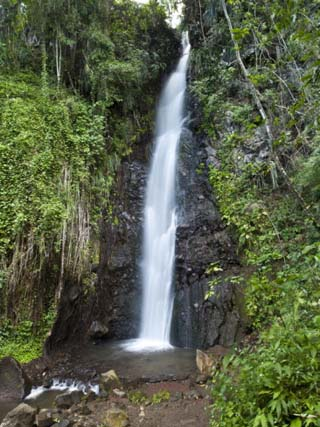 Dark View Falls, St. Vincent, St. Vincent and the Grenadines, Windward Islands