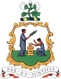 St Vincent and the Grenadines coat of arms