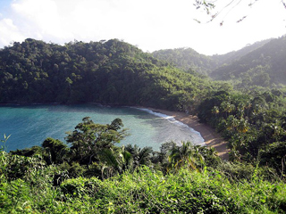 Englishman's Bay in Trinidad and Tobago