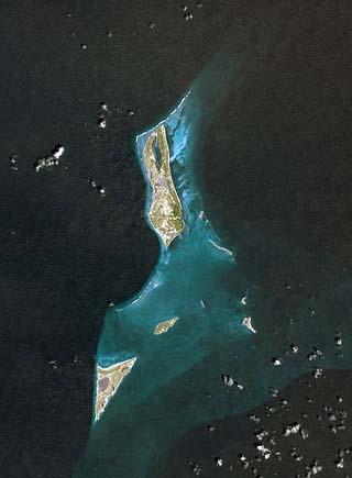 satellite of turks and caicos