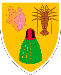 Coat of arms of turks and caicos