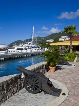 Yacht Haven Grande, the New Yacht Harbour, St. Thomas, U.S. Virgin Islands, West Indies