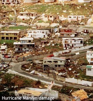 hurricane marilyn