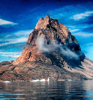 mountain greenland