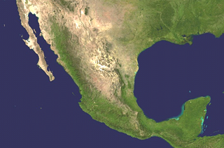 mexico from space
