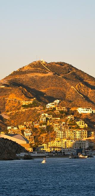 hillside houses cabo