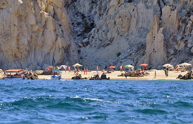 swiming beach cabo san lucas