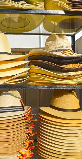 hats for sale huatulco mexico