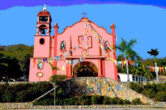 church huatulco mexico