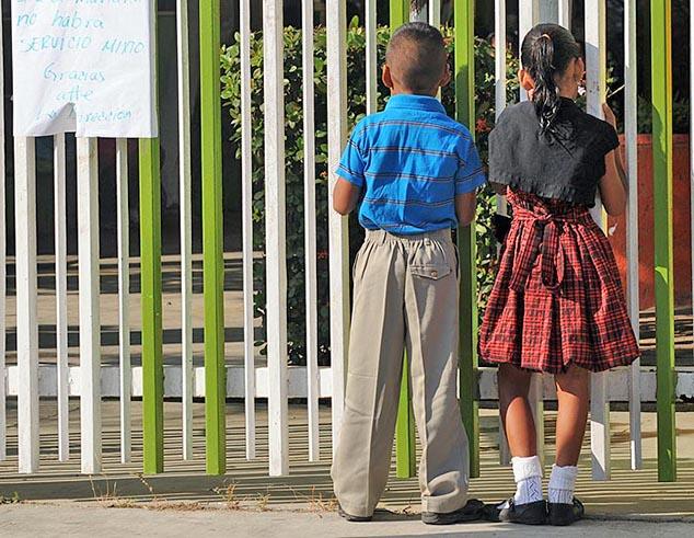 schoolyard huatulco mexico