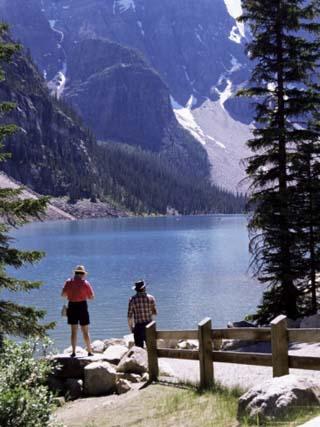 Lake Moraine, Alberta, Rockies, Canada