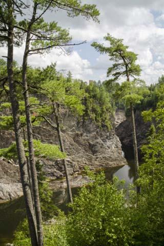 Grand Falls, New Brunswick, Canada, North America