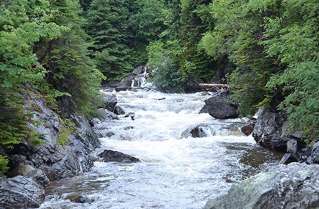waterfall corner brook